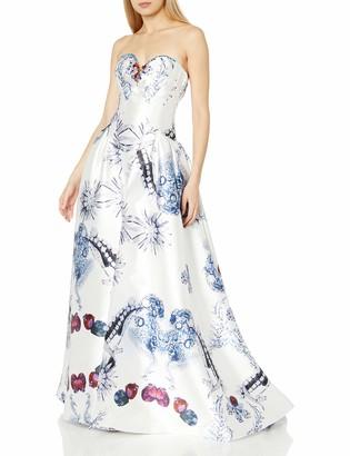 Mac Duggal Women's Strapless Bustier Gown