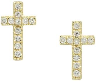 Kamaria Cross Diamond Studs