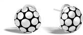 John Hardy Women's Dot Button Earring in Sterling Silver