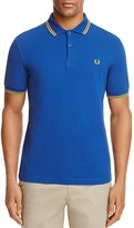 Fred Perry Tipped Piqué Slim Fit Polo Shirt