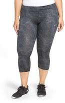 Nike Plus Size Women's 'Essential' Print Dri-Fit Crop Leggings
