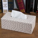 XY&GK Lvng Room Leather Tssue Box Style Home Smple Home Car Paper Box Large Napkn Paper Box #B Make your lfe more comfortable