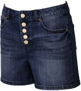 JLO by Jennifer Lopez Women's High-Rise Jean Shorts