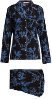 Stella-McCartney-Lingerie STELLA MCCARTNEY LINGERIE Poppy Snoozing stretch-silk pyjama set
