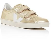 Veja Unisex Esplar Leather Low-Top Sneaker - Toddler, Little Kid