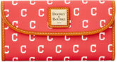 Dooney & Bourke MLB Indians Continental Clutch