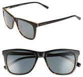 Ted Baker Men's 54Mm Polarized Square Sunglasses - Tortoise