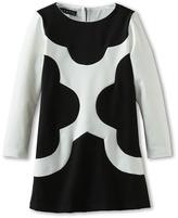 Biscotti Mod Squad L/S Dress (Little Kids) (Black/Ivory) Girl's Dress