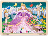Melissa & Doug Kids Toy, Woodland Princess 24-Piece Jigsaw Puzzle