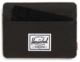 Herschel Men's Charlie Rfid Card Case - Black