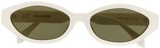 Zadig & Voltaire Retro Frame Sunglasses