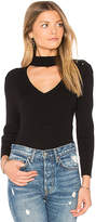 525 America Rib Bar Bell Sweater in Black. - size L (also in M,S,XS)