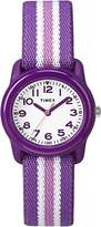 Timex Girls TW7C06100 Time Machines Analog Resin Elastic Fabric Strap Watch