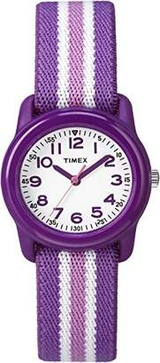 Timex Girls TW7C06100 Time Machines Elastic Fabric Strap Watch