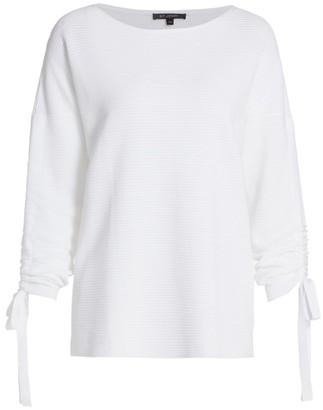 St. John Ottoman Boatneck Sweater