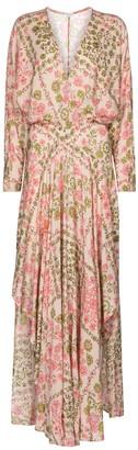 Poupette St Barth Ilona floral maxi dress