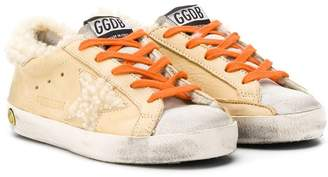 Golden Goose Kids basketball sneakers