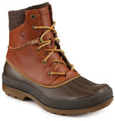 Sperry Round Toe Leather Boots
