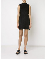 Alexander Wang fitted suede dress