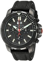Tommy Bahama Men's 10018297 Big Island Diver Chronograph Analog Display Japanese Quartz Black Watch