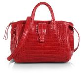 Nancy Gonzalez Cristina Small Crocodile Satchel