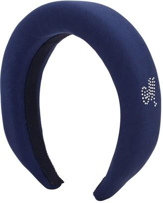MonnaLisa Embellished Satin Headband