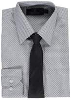 "Vittorino Big Boys' ""Two-Tone"" Dress Shirt with Tie - , 14-16"