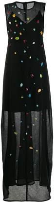 Maison Rabih Kayrouz stone embellished maxi dress
