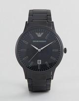 Emporio Armani Ar11079 Bracelet Watch In Black