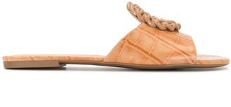 Vicenza Croc-Effect Sandals
