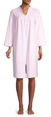 Miss Elaine Zip-Front Robe