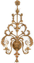 Chelsea House Tuscany Brass Sconce, Antiqued Brass
