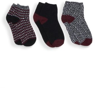 Warner's Blissful Benefits by Lightweight Fluffy Socks, 3 Pack