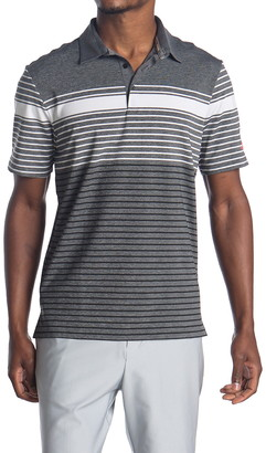 adidas Ultimate 365 Stripe Golf Polo