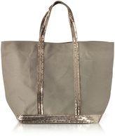Vanessa Bruno Les Cabas Medium Cotton and Sequins Tote