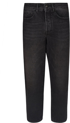 Marcelo Burlon County of Milan Cropped Length Jeans