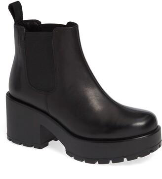Vagabond Shoemakers Dioon Platform Chelsea Bootie