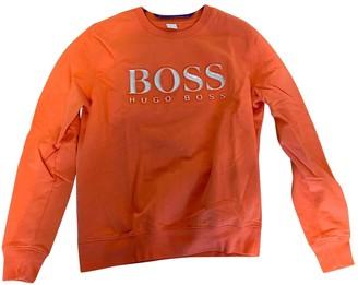 HUGO BOSS Orange Cotton Knitwear for Women