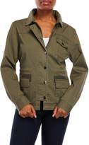 Velvet Heart Long Utility Jacket