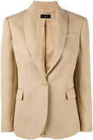 Joseph chest pocket blazer - women - Cotton/Ramie/Viscose - 36