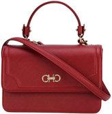 Salvatore Ferragamo embellished shoulder bag - women - Calf Leather - One Size