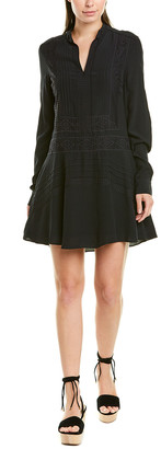 Derek Lam 10 Crosby Lace-Trim Shift Dress