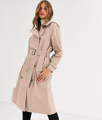 Vila oversized trench coat-Cream