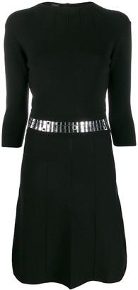 Pinko Belted Waist Dress