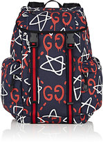Gucci Men's GucciGhost-Print Backpack
