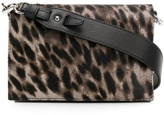 Tod's leopard print cross body bag