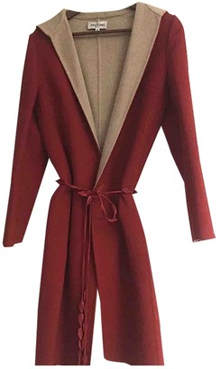 Valentino Red Cashmere Coat for Women Vintage