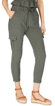 INC International Concepts Inc Earth Cargo Jogger Pants, Created for Macy's