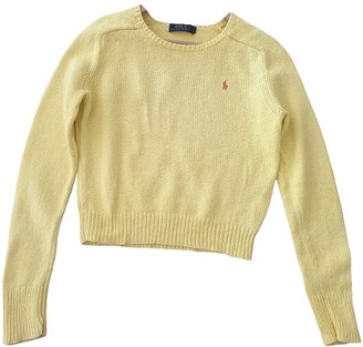 Polo Ralph Lauren Yellow Cotton Knitwear
