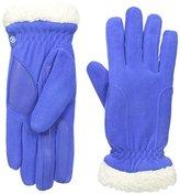 Isotoner Women's Stretch Fleece SherpaSoft Gloves